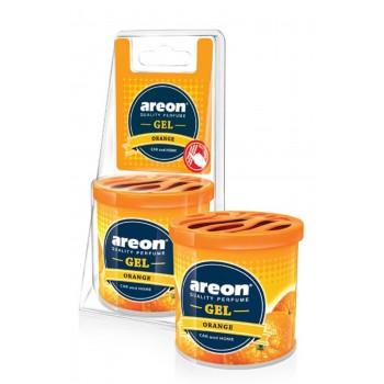 Автомобильный ароматизатор Areon GEL CAN BLISTER, Апельсин