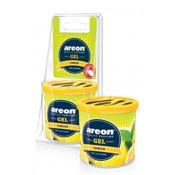 Автомобильный ароматизатор Areon GEL CAN BLISTER, Лимон