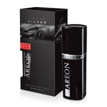 Автомобильный ароматизатор Areon PERFUME 50 ML Серебро