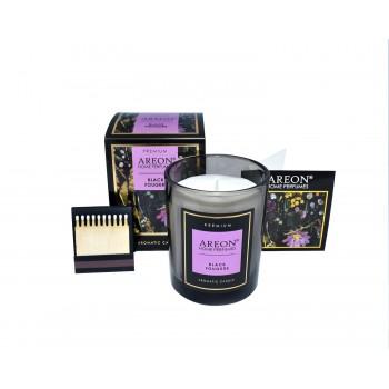 Ароматическая свеча Areon Premium 704-PC-02, Black Fougere