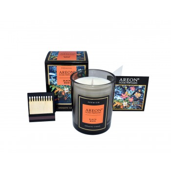 Ароматическая свеча Areon Premium 704-PC-04, Black Musk