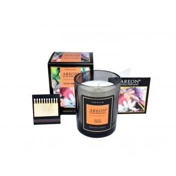 Ароматическая свеча Areon Premium 704-PC-05, Gold Amber