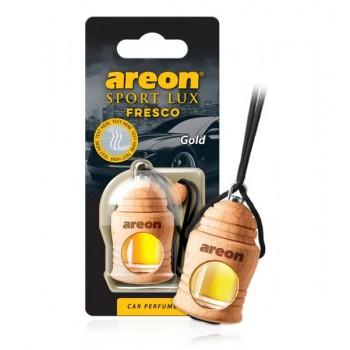 Автомобильный ароматизатор AREON FRESCO SPORT LUX FSL01 (704-051-L01), Gold, Золото