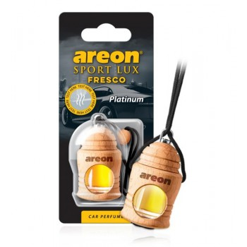 Автомобильный ароматизатор AREON FRESCO SPORT FSL03 (LUX 704-051-L03) Platinum, Платина