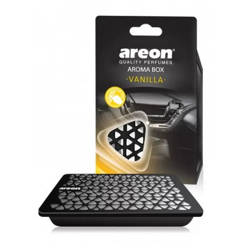 Автомобильный ароматизатор Areon AROMA BOX, Ваниль