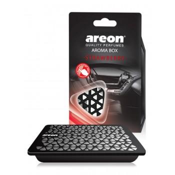 Освежитель воздуха под сидение авто AREON BOX 704-ABC-04, Strawberry, Клубника