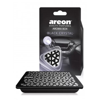 Автомобильный ароматизатор Areon AROMA BOX, Черный кристал