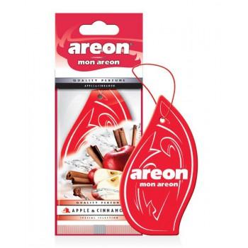 Автомобильный ароматизатор Areon MON AREON  Apple & Cinnamon, Яблоко и корица