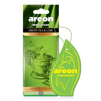 Автомобильный ароматизатор Areon MON AREON  Green Tea & Lime, Зелёный чай лайм