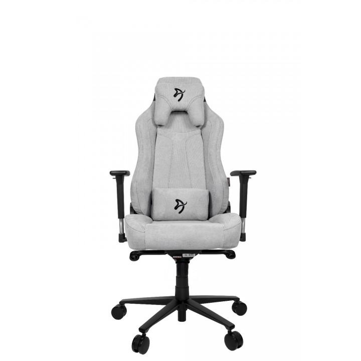 Компьютерное кресло (для геймеров) Arozzi Vernazza Soft Fabric - Light Grey