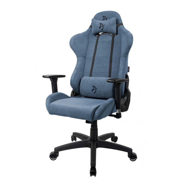 Компьютерное кресло (для геймеров) Arozzi Torretta Soft Fabric - Blue
