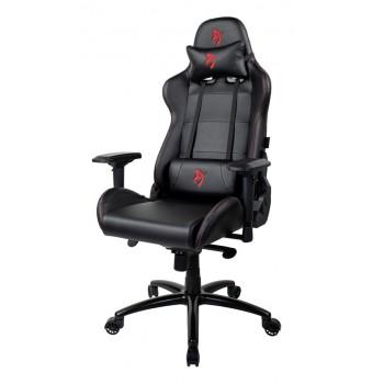Компьютерное кресло (для геймеров) Arozzi Verona Signature Black PU - Red Logo