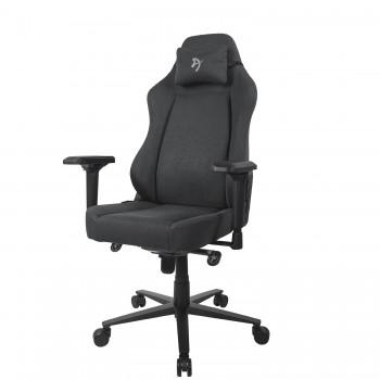 Компьютерное кресло (для геймеров) Arozzi Primo Woven Fabric - Black - Grey logo