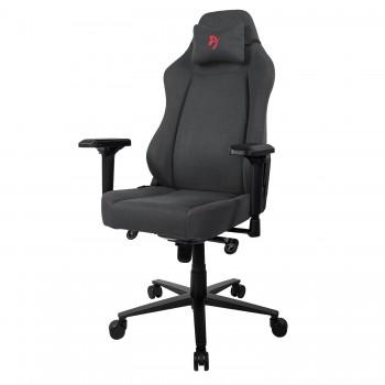 Компьютерное кресло (для геймеров) Arozzi Primo Woven Fabric - Black - Red logo