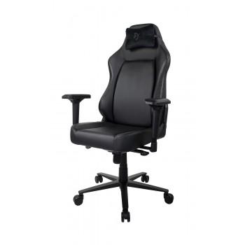 Компьютерное кресло (для геймеров) Arozzi Primo PU - Black - Black logo