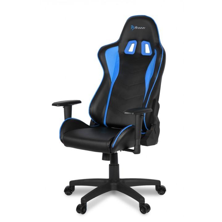 Компьютерное кресло (для геймеров) Arozzi Mezzo V2 Blue