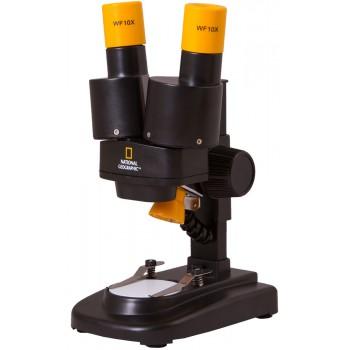 Микроскоп стереоскопический Bresser National Geographic 20x 69365