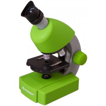 Микроскоп Bresser Junior 40x-640x, зеленый 70124