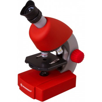 Микроскоп Bresser Junior 40x-640x, красный 70122
