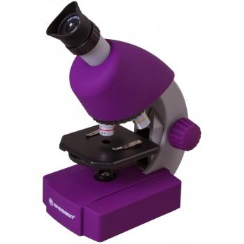 Микроскоп Bresser Junior 40x-640x, фиолетовый 70121
