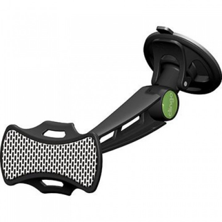 Автомобильный держатель липучка для смартфона Clingo car phone mount 07022, черный