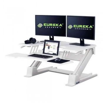 Подставка на компьютерный стол для работы стоя Eureka CV-PRO36W, белый