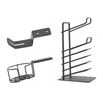 Набор держателей для стола EUREKA ERK-CA-3R (подстаканник, крючок для наушников, держатель для геймпадов)