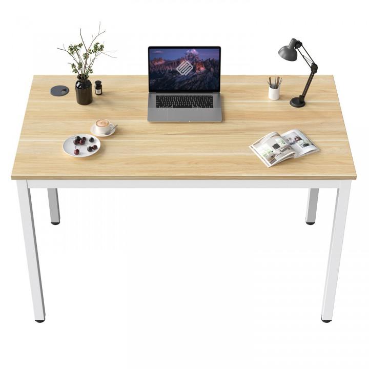 Стол письменный (для компьютера) EUREKA ERK-D04-EW с шириной 79 см, Embossed Wood