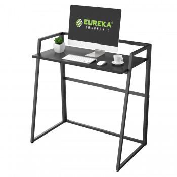 Складной письменный стол (для компьютера) EUREKA ERK-FD-03B с шириной 84 см, Black