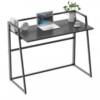 Складной письменный стол (для компьютера) EUREKA ERK-FD-02B с шириной 104 см, Black