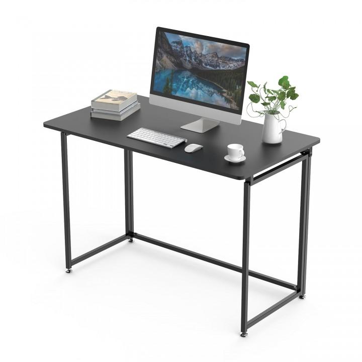 Складной письменный стол (для компьютера) EUREKA ERK-FT-43B с шириной 109 см, Black