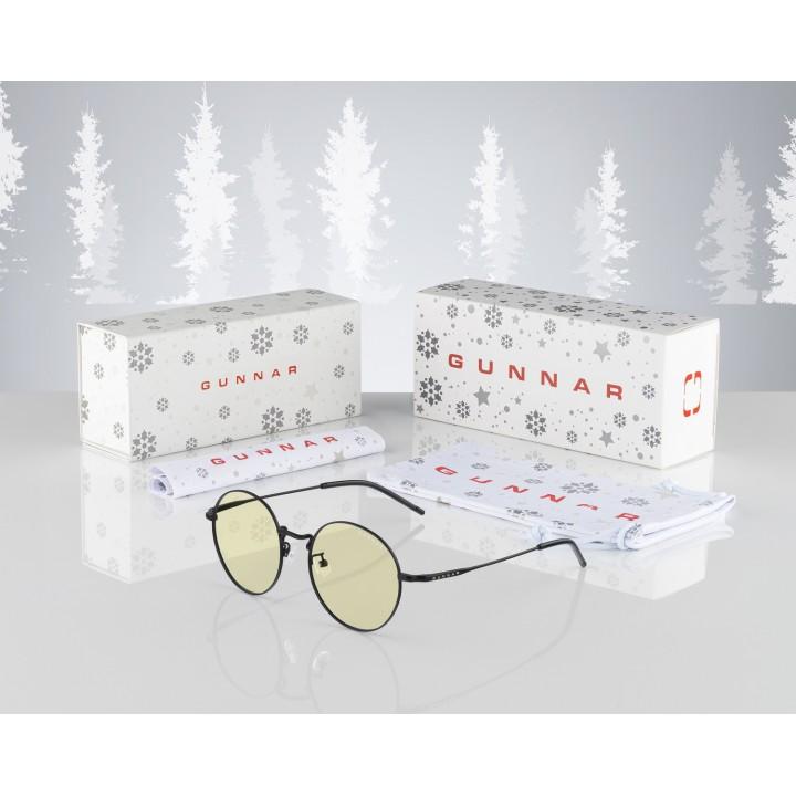 Очки для компьютера (для геймеров) GUNNAR Ellipse Amber BUN-00029, подарочная упаковка