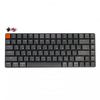 Беспроводная механическая ультратонкая клавиатура Keychron K3, 84 клавиши, RGB подстветка, Red Switch