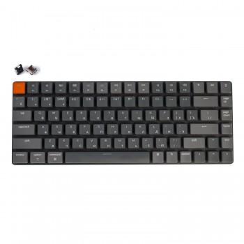 Беспроводная механическая ультратонкая клавиатура Keychron K3, 84 клавиши, RGB подстветка, Brown Switch