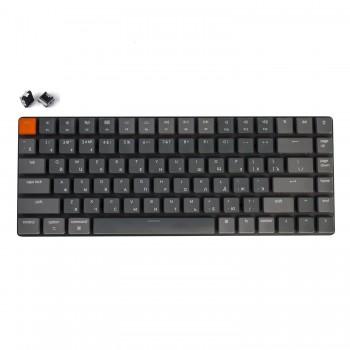 Беспроводная механическая ультратонкая клавиатура Keychron K3, 84 клавиши, RGB подстветка, Black Switch