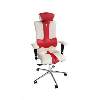 Кресло эргономичное Kulik ELEGANCE (1003) white/red