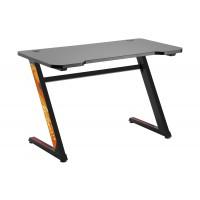 Стол для компьютера (для геймеров) LUMI GMD-02-Black_Уценка_повреждена упаковка