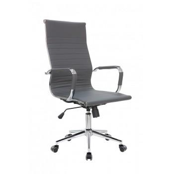 Кресло офисное Riva Chair 6002-1S, серый