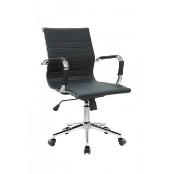 Кресло офисное Riva Chair 6002-2S, черный