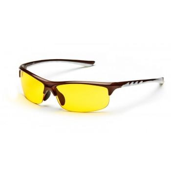 Очки для водителей SP Glasses AD036_CW, шоколадно-белый