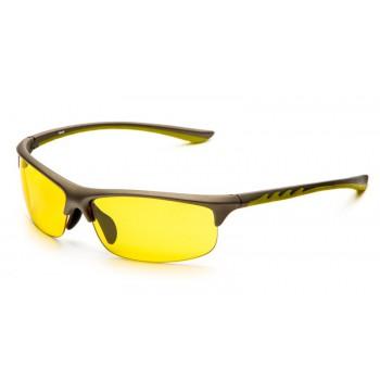 Очки для водителей SP Glasses AD036, серо-желтый