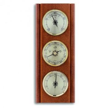 Аналоговая метеостанция TFA 20.1002.03, деревянная
