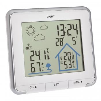 Цифровая метеостанция TFA 35.1153.02, белая
