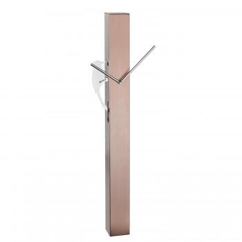 Аналоговые маятниковые часы TFA 60.3062.51, розовое золото