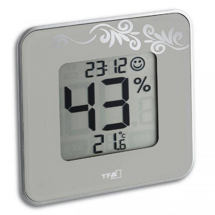 Цифровой термогигрометр TFA 30.5021.02, белый