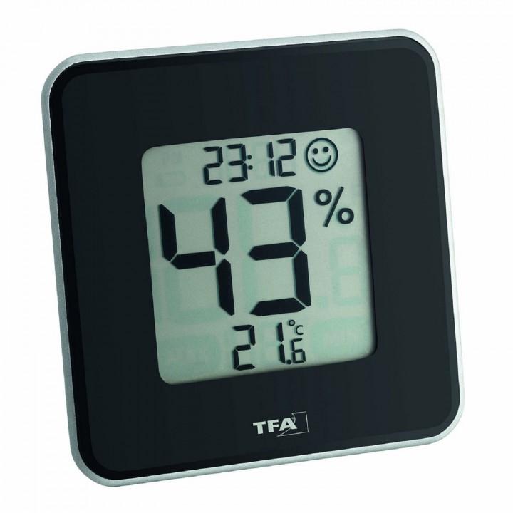 Цифровой термогигрометр TFA 30.5021.01, черный