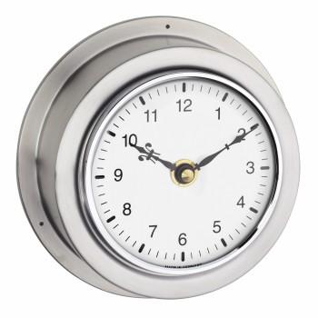 Часы настенные аналоговые из нержавеющей стали 60.3014