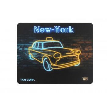 Неоновый коврик для мышки TNB, Такси Нью-Йорк